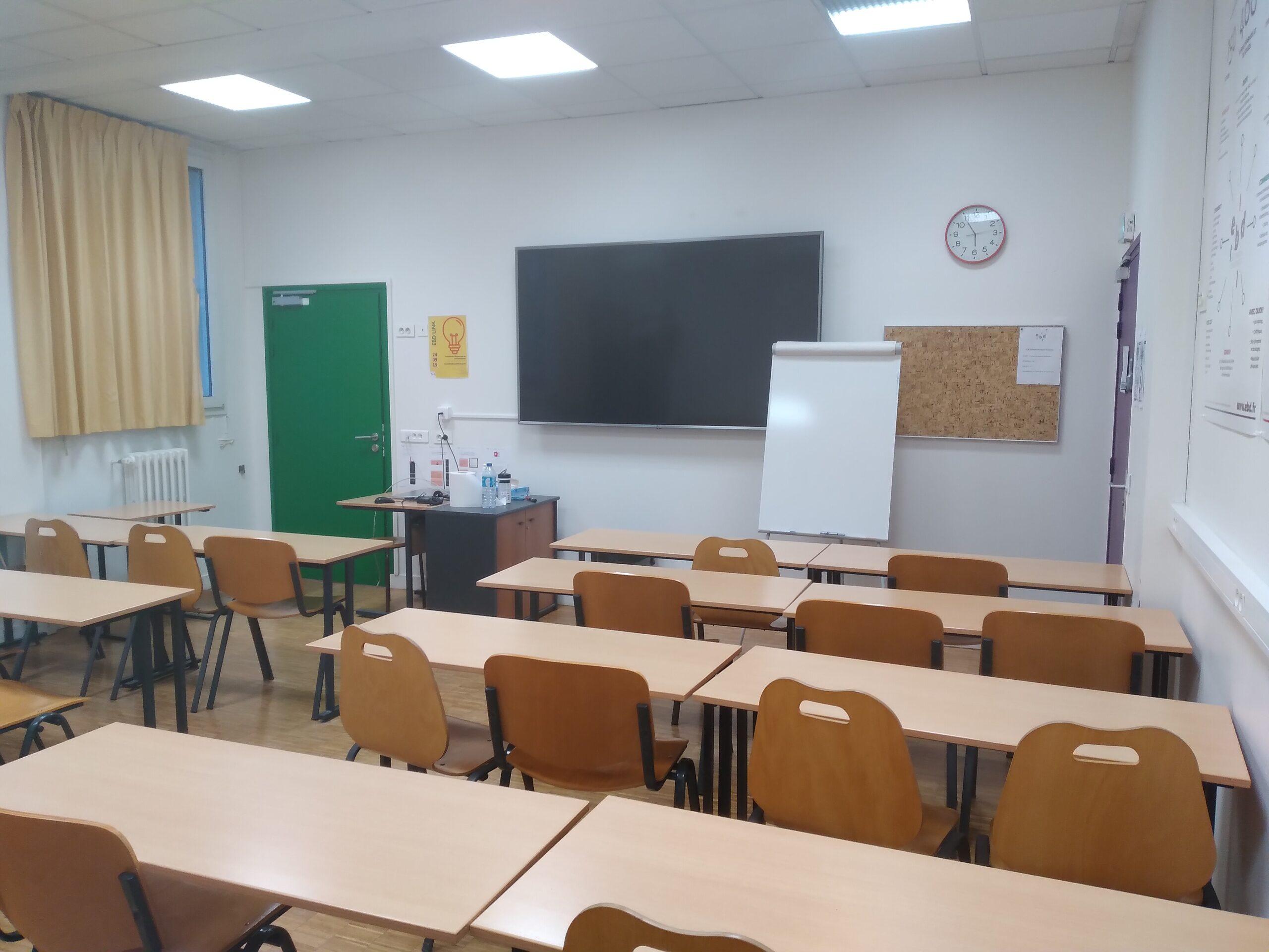 Classe salle verte EBD